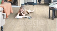 Ламінат Quick-Step Impressive IM 1857 Дуб бежевий,обробка розпилом Бельгія