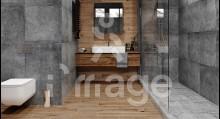 Плитка Zeus Ceramica CONCRETE ZRXRM9R NERO (0617505) Україна