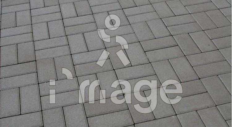 Тротуарна плитка цегла стандарт сіра 200*100 мм